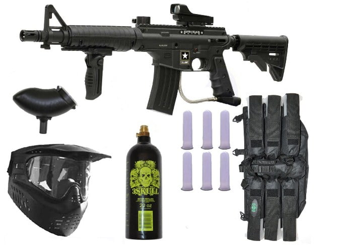 Tippmann US Army Alpha Elite Paintball Marker