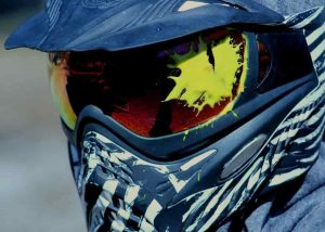 paintball head protection